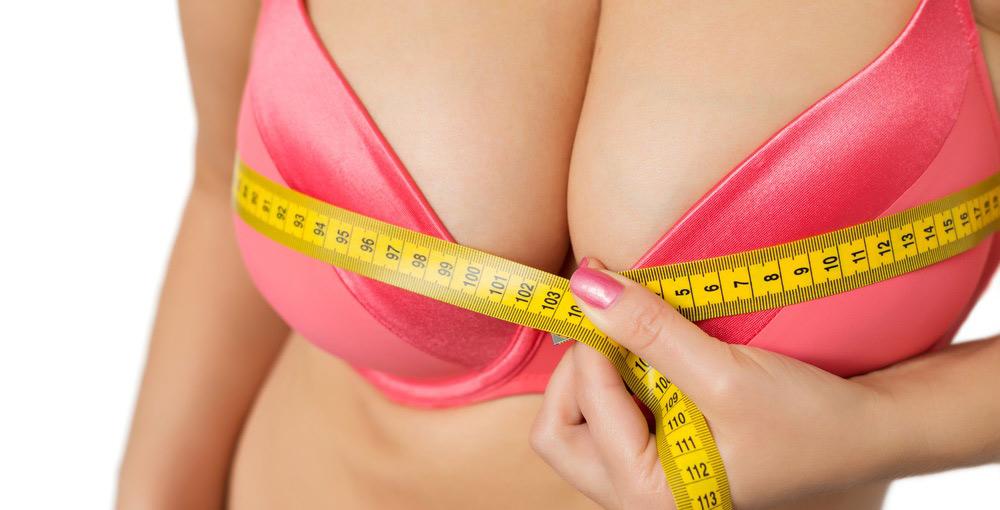 Эффект увеличения груди