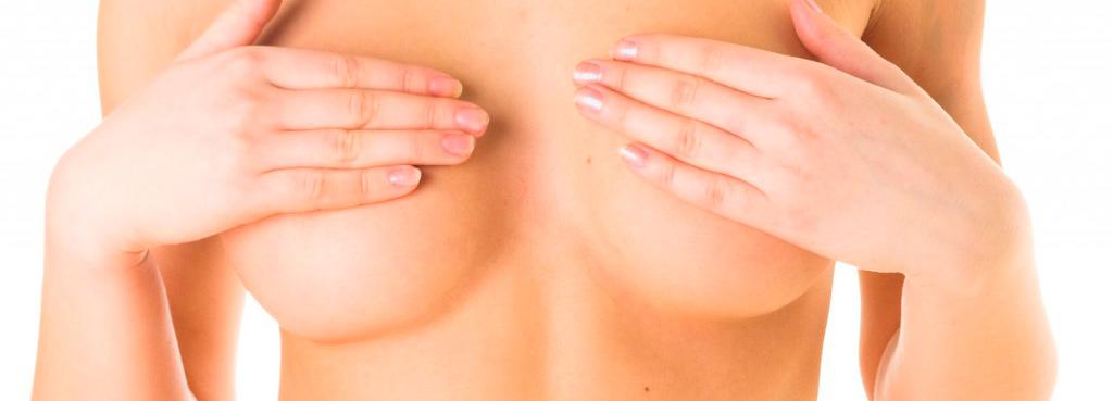 После увеличения груди